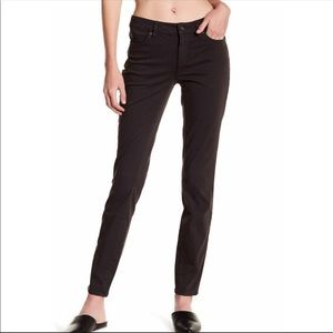 Two by Vince Camuto Black Skinny Jeans Size 28 (6)
